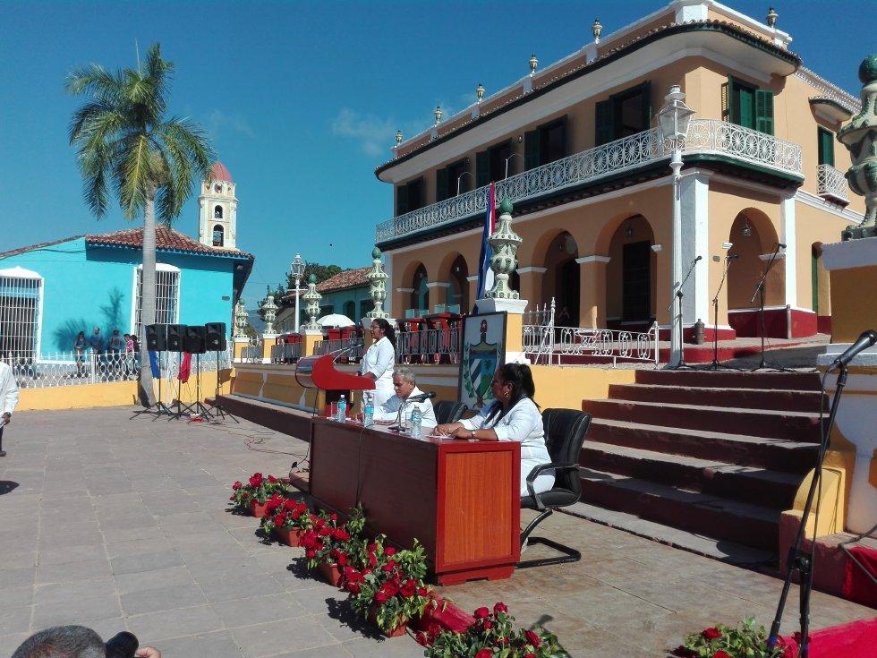 Trinidad, aniversario 505, Asamblea