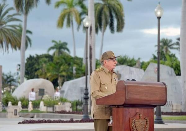 cuba, revolucion cubana, una sola revolucion, santiago de cuba, raul castro, santa ifigenia, miguel diaz-canel, presidente de cuba