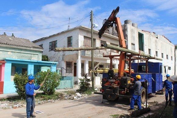 Etensa, tornado, recuperación, La Habana