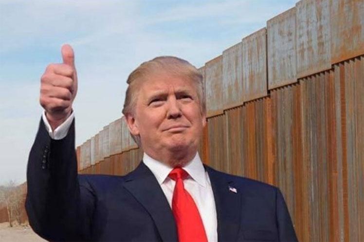 Donald Trump, Estados Unidos, México, muro
