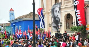 sancti spiritus, caravana de la libertad, una sola revolucion, revolucion cubana, fidel castro, #fidelporsiempre