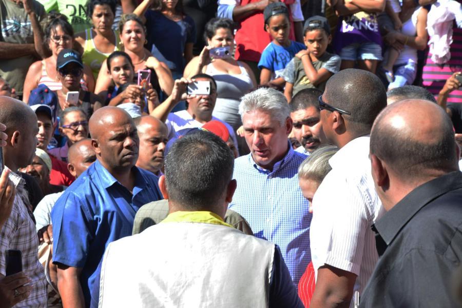 sancti Spíritus, presidente de cuba en sancti spiritus, miguel diaz-canel bermudez, trinidad