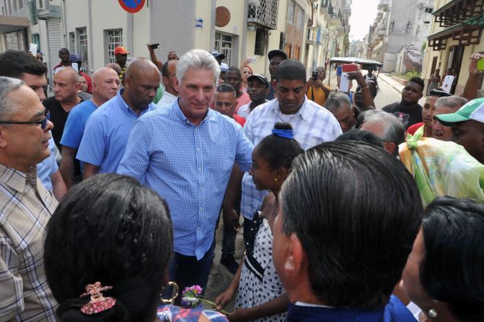 cuba, la habana, aniversario 500 de la habana, miguel diaz-canel, presidente de cuba