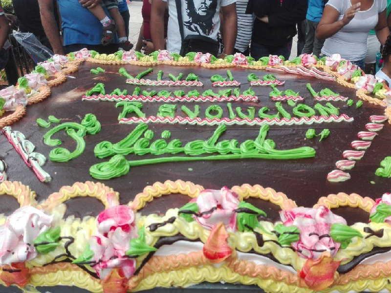 trinidad, una sola revolucion, revolucion cubana, caravana de la libertad, aniversario 5005 de trinidad