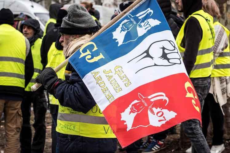 francia, manifestaciones, chalecos amarillos