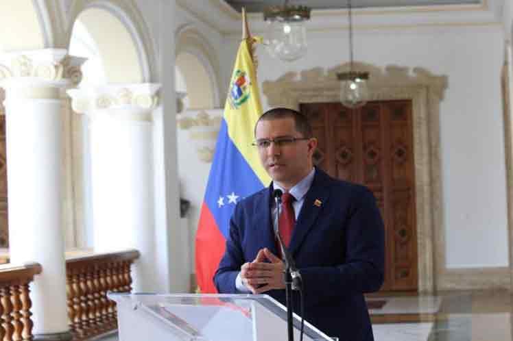 Venezuela, paz, Jorge Arreaza