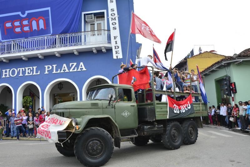 sancti spiritus, caravana de la libertad, fidel castro, #fidelporsiempre, una sola revolucion, revolucion cubana, ejercito rebelde