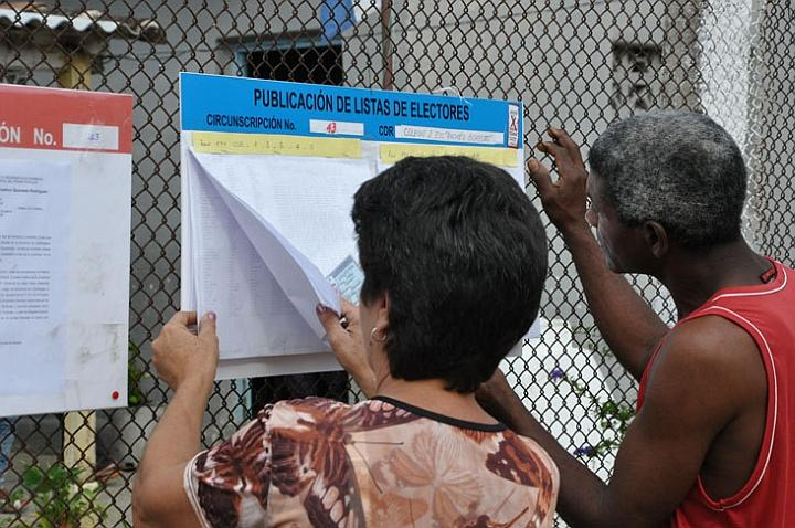 Concluye mañana la revisión del registro electoral en barrios camagüeyanos