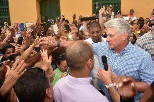 sancti spiritus, miguel diaz-canel, presidente de cuba, universidad de sancti spiritus jose marti, informatizacion de la sociedad