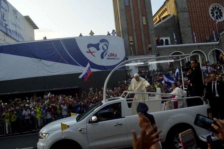 panama, papa francisco