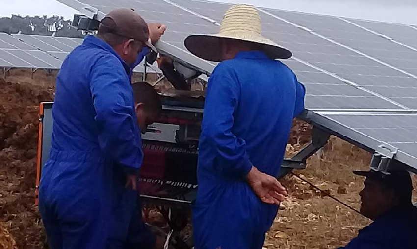 Sancti spiritus, empresa eléctrica, fuente de energía renovable, parque solar fotovoltaico
