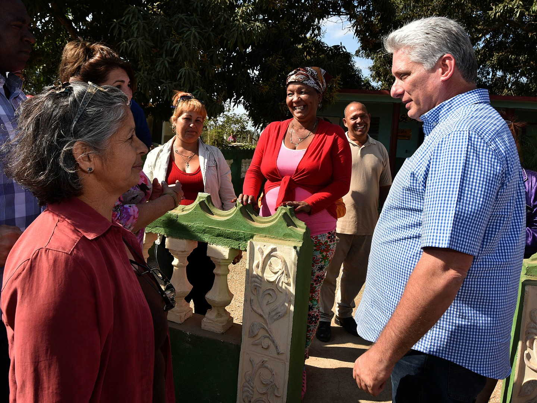 sancti Spíritus, presidente de cuba en sancti spiritus, miguel diaz-canel bermudez, la sierpe, sur del jibaro, empresa agroindustrial de granos