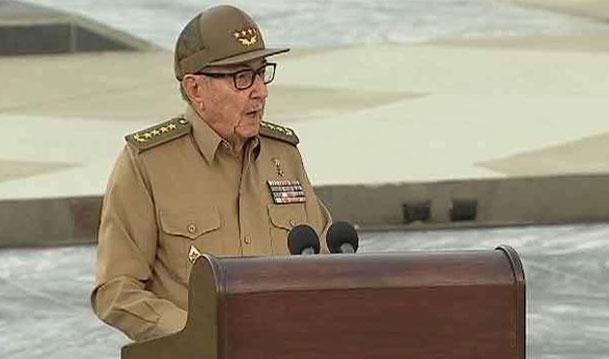 La autoridad política y moral de Cuba está sustentada en la Historia, expresó Raúl. (Foto: PL)