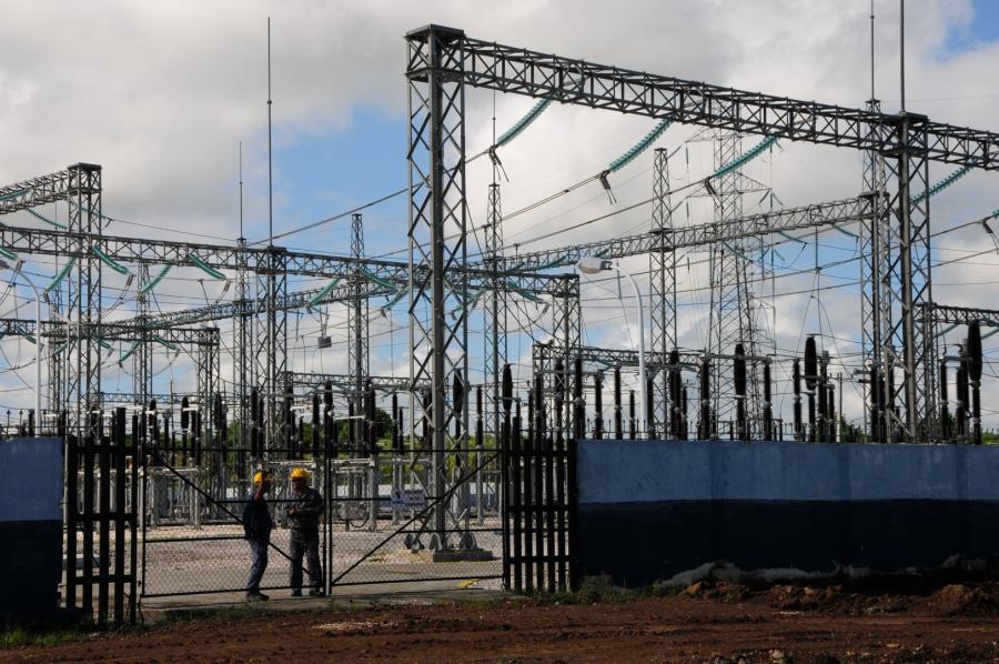 sancti spiritus, empresa electrica, subestacion, parque solar fotovoltaico