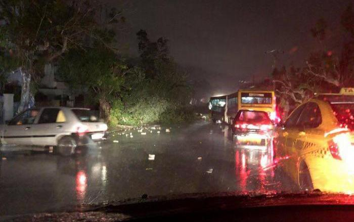 la habana, capital cubana, tormenta, lluvian intensas, tormenta local severa