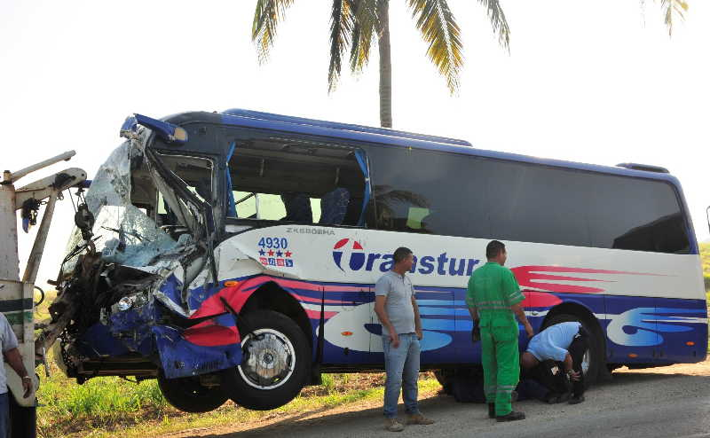 sancti spiritus, accidentes de transito, accidentes