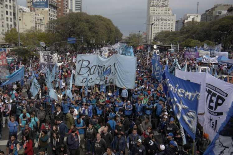 Argentina, protestas, Mauricio Macri