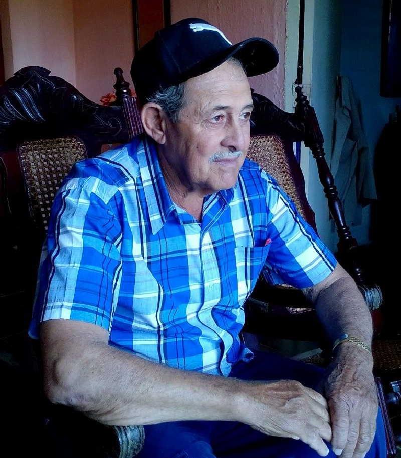 Este cubano agradece su vida a la Revolución. (Foto: Nicolás Hernández González)