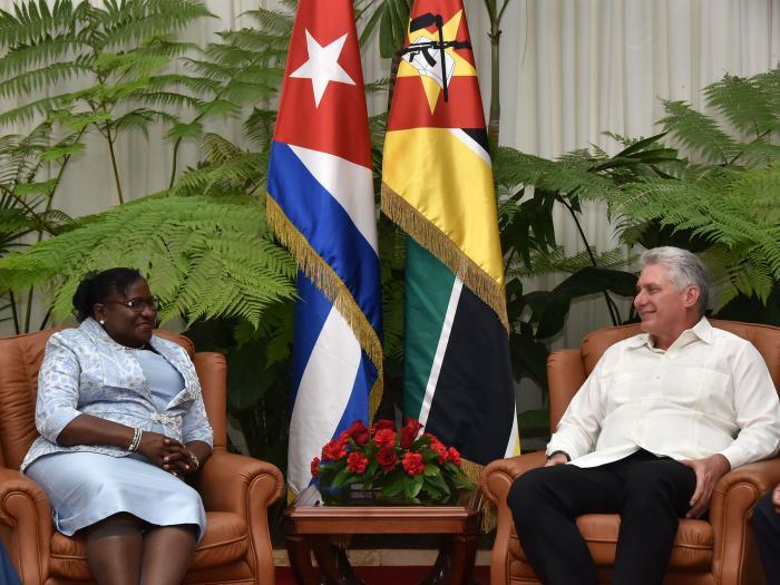 Cuba, Mozambique, Díaz-Canel
