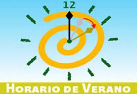 A las doce de la noche del sábado 9 de marzo deberán adelantarse una hora los relojes.