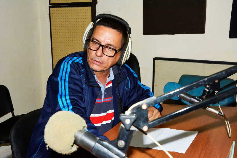 sancti spiritus, radio sancti spiritus, radio rebelde, periodista