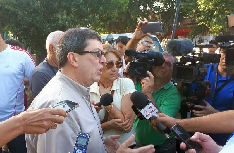 cuba, venezuela, injerencia, bruno rodriguez, relaciones cuba-estados unidos