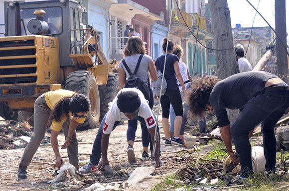 Tornado, La Habana, recuperación