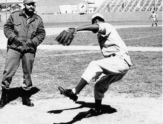 Modesto Verdura, béisbol, Fidel Castro