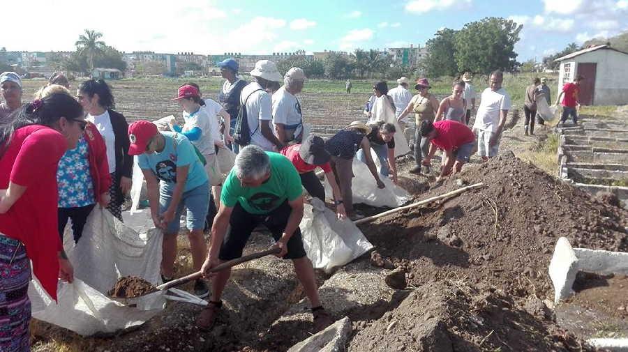 sancti spiritus, solidaridad con cuba, brasil, argentina, chile, trabajo voluntario, icap