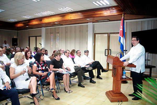 cuba, venezuela, injerencia, todossomosvenezuela, bruno rodriguez, paz