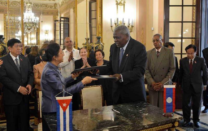 cuba, laos, parlamento cubano, asamblea nacional del poder popular, esteban lazo