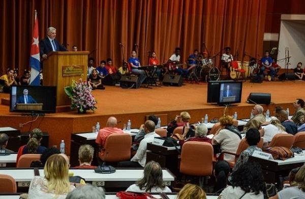 uba, Pedagogía 2019, Díaz-Canel, presidente de cuba