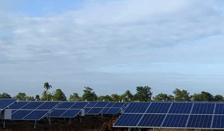 sancti spiritus, empresa electrica, parque solar fotovoltaico, sistema electroenergetico nacional