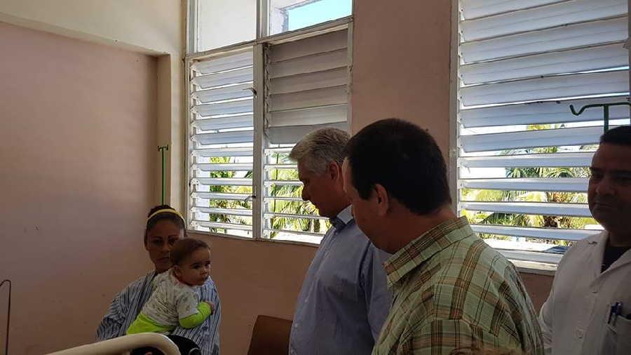 las tunas, presidente de cuba, miguel diaz-canel bermudez