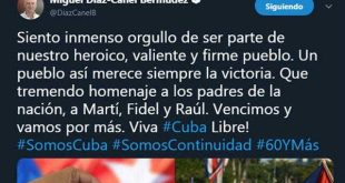 cuba, constitucion de la republica, referendo constitucional, miguel diaz-canel, presidente de cuba