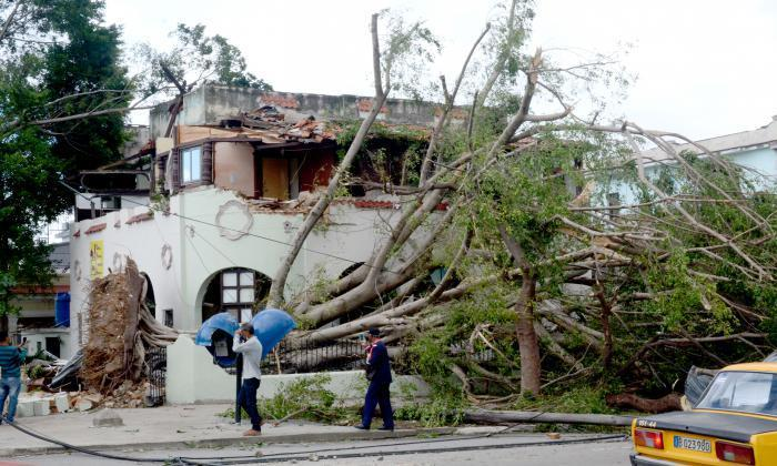 cuba, la habana, tornado, fallecidos, defensa civil