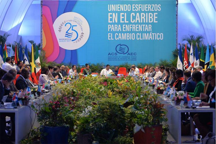 La Declaración de Managua debe ser aprobada este viernes en la Cumbre de la Asociación de Estados Caribeños. Foto: PL.