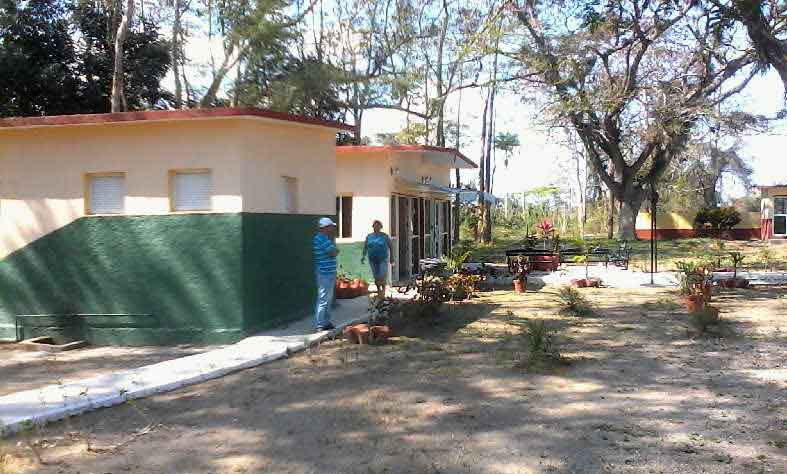 La base de Arroyo Lajas recibió recientemente una reparación capital. (Foto: Cortesía de Campismo)