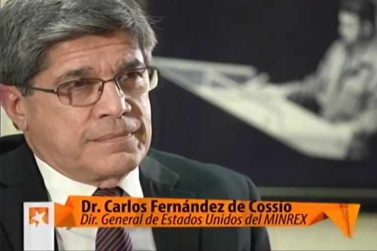 El diplomático cubano detalló que Estados Unidos demuestra un irrespeto por el derecho internacional. (Foto: PL)