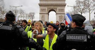 francia, huelga, chalecos amarillos