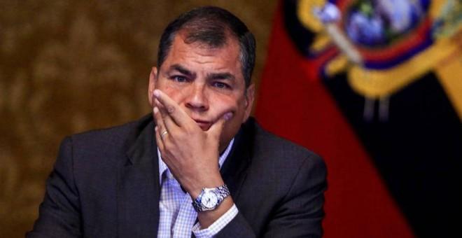 Correa estimó que América Latina vive un momento muy duro, pero expresó confianza en la reacción de los pueblos. (Foto: EFE)