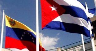banderas, cuba, venezuela