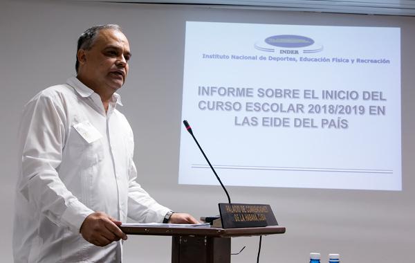 Osvaldo Vento Montiller, hasta ahora vicepresidente, fue designado como nuevo titular del organismo. (Foto: Roberto Morejón)