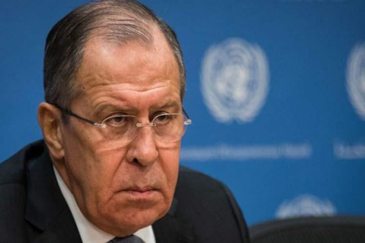 La teoría y la práctica de los 'patios traseros', en general, son ofensivas, aseguró Lavrov. (Foto: PL)