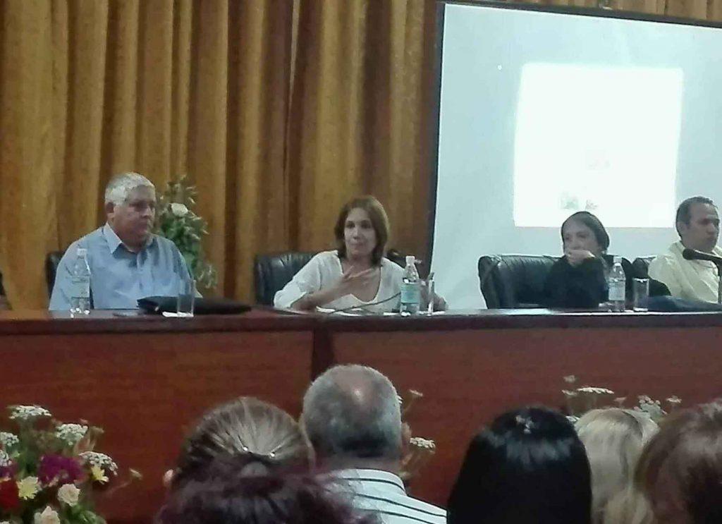 """""""Estamos legislando en nombre del pueblo"""", aseguró Ana María Mari Machado, vicepresidenta del Parlamento cubano. (Foto: Minoska Cadalso)"""
