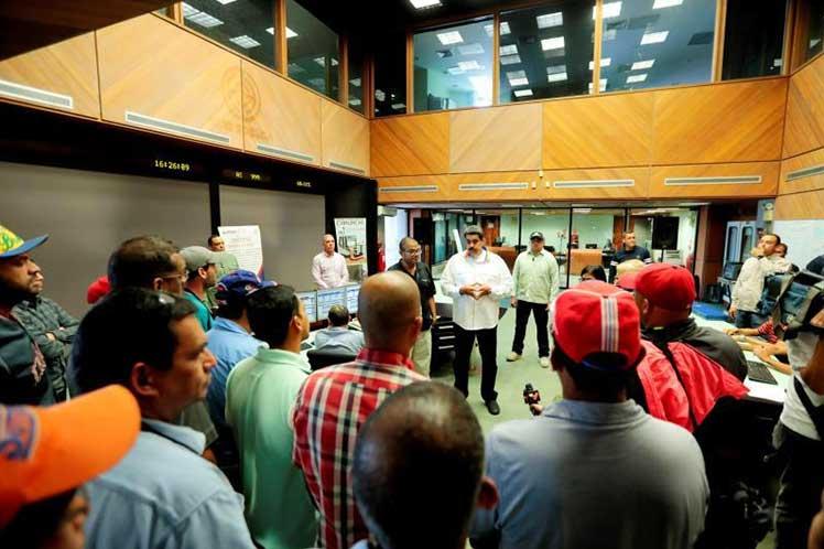 Maduro inspeccionó este sábado central hidroeléctrica Antonio José de Sucre