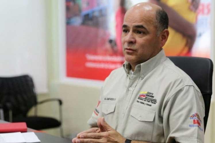 """'Es el pueblo el que sufre con estos actos terroristas"""", aseguró Manuel Quevedo. (Foto: PL)"""