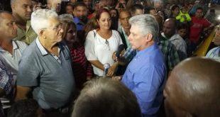 cuba, presidente de cuba, miguel diaz-canel, consejo de la administracion, produccion de alimentos, atencion a la poblacion