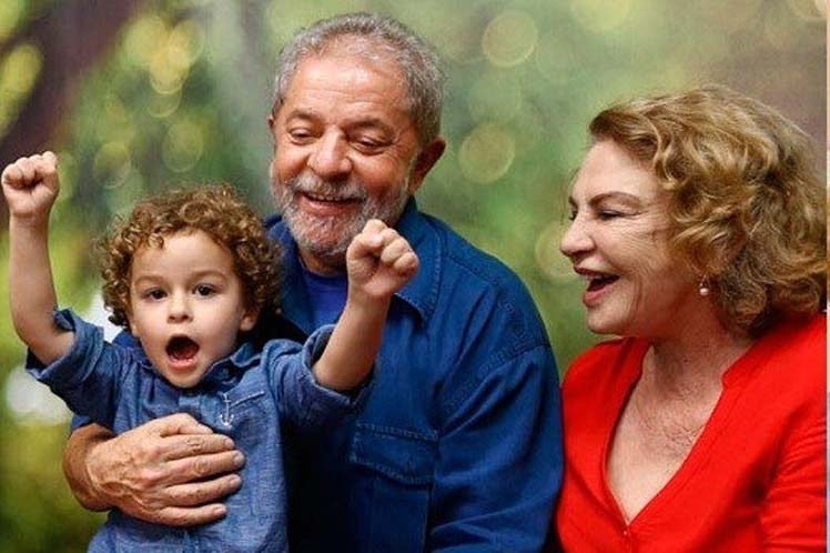 'Nunca esperé una historia como ésta', recalcó Lula. (Foto: PL)