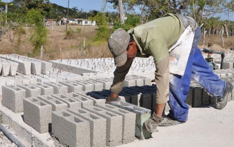 sancti spiritus, construccion de viviendas, materiales de la construccion